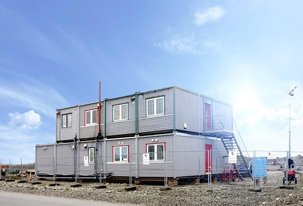 Extena Polarrör isolerat och frysskyddat rör med värmekabel för vatten och avlopp Applikation byggbodar