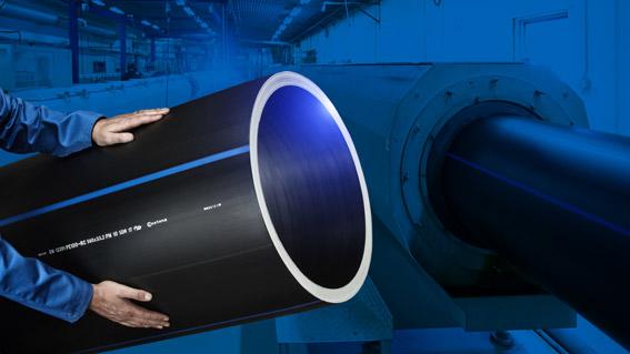 EXTENA Specialist på tryckrör i polyeten PE100 RC